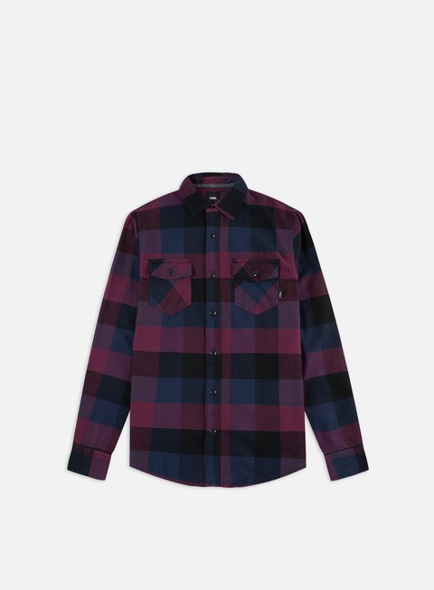 Long Sleeve Shirts Vans Box Flannel LS Shirt