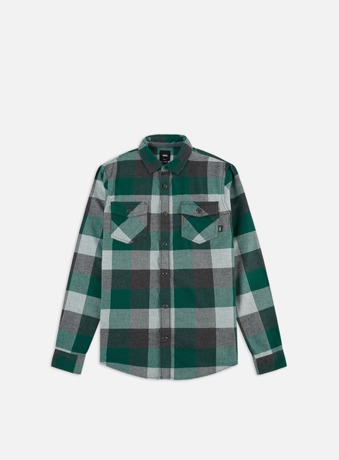Sale Outlet Long Sleeve Shirts Vans Box Flannel LS Shirt