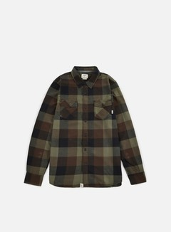 Vans - Box Flannel Shirt, Grape Leaf/Demitasse 1