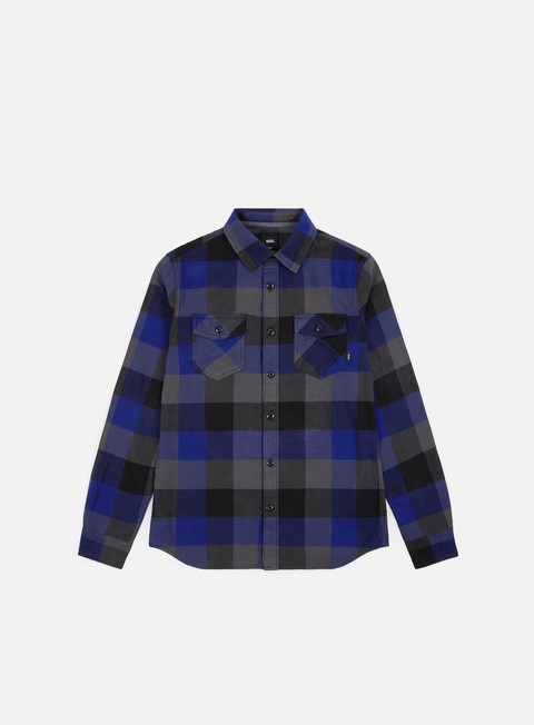 Long Sleeve Shirts Vans Box Flannel Shirt