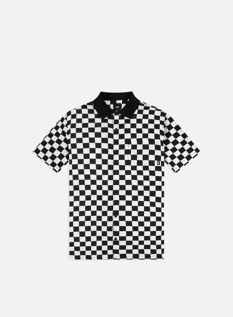 Camicie a Manica Corta Vans Checker Camp SS Shirt