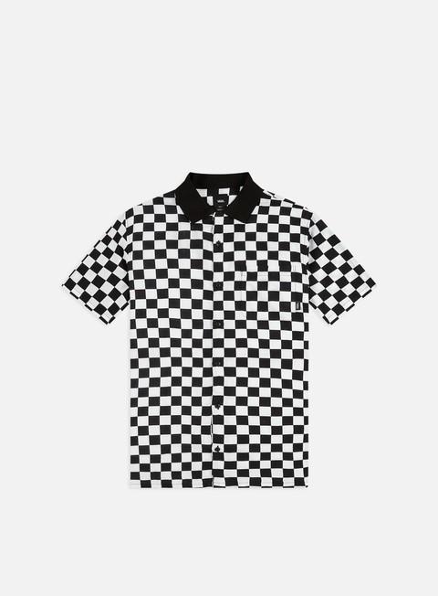 Sale Outlet Short Sleeve Shirts Vans Checker Camp SS Shirt