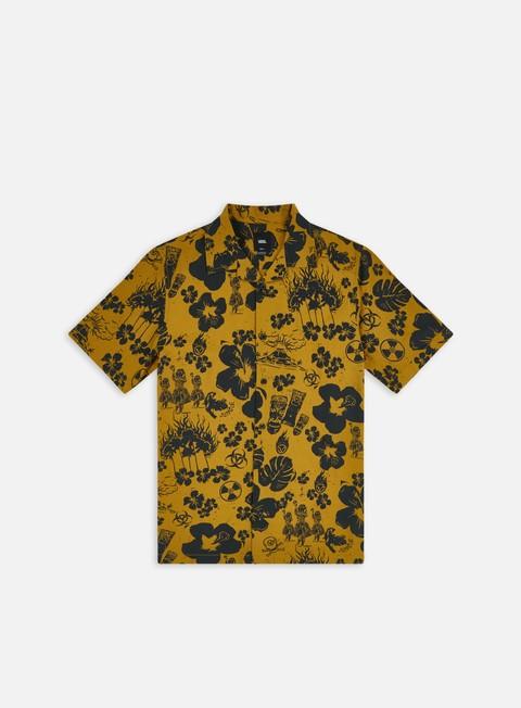 Camicie a Manica Corta Vans Dark Aloha Woven Dried SS Shirt