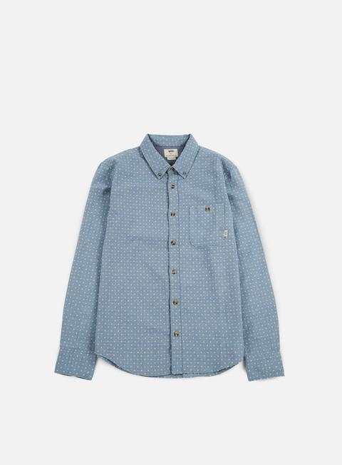 camicie vans glencoe shirt blue mirage
