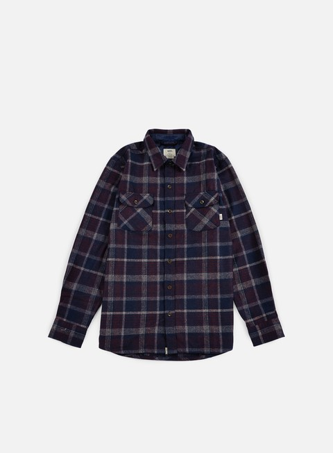 camicie vans harding shirt port royale dress blues