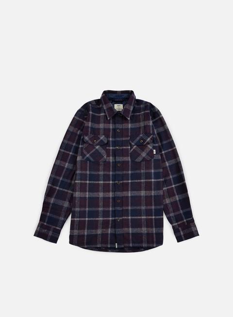 Outlet e Saldi Camicie a Manica Lunga Vans Harding Shirt