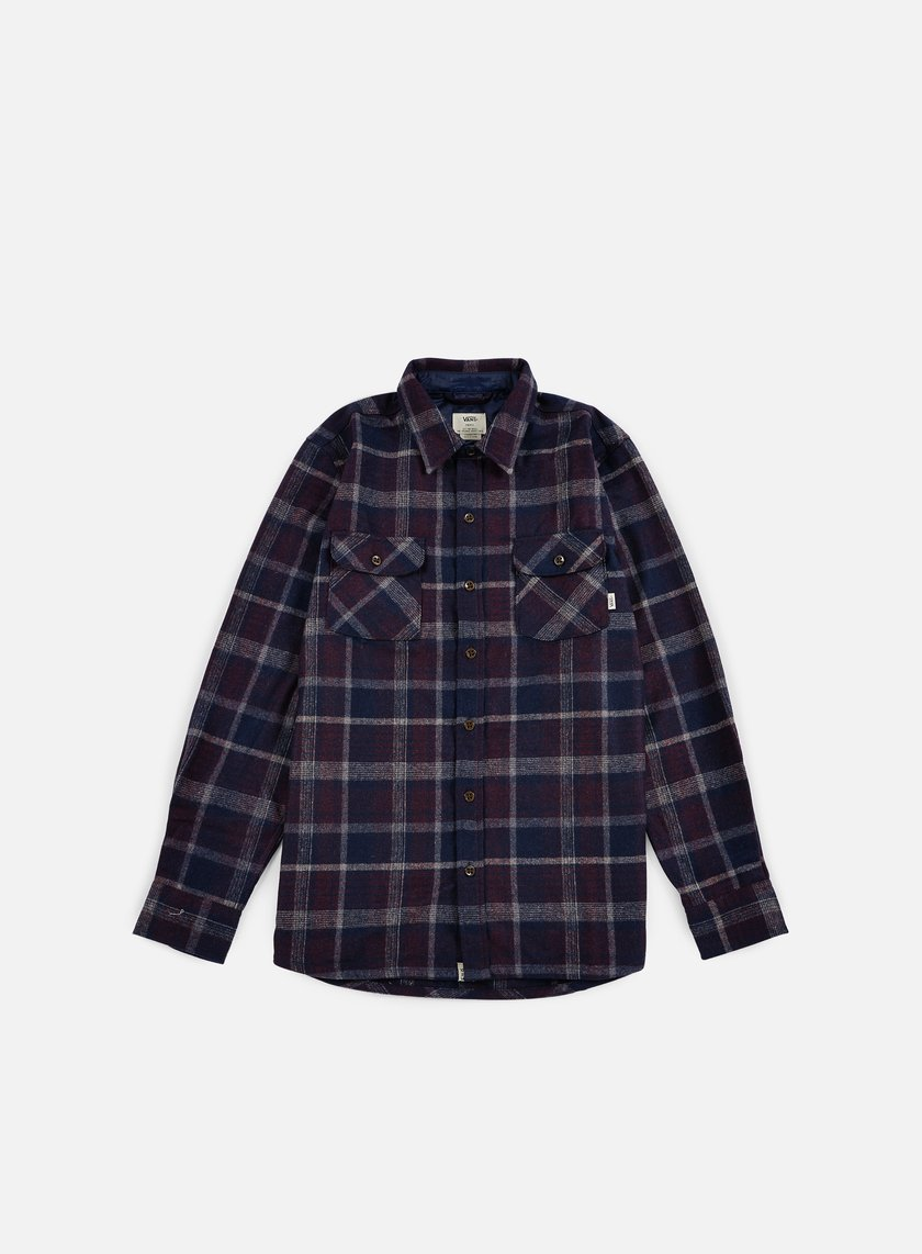 Vans - Harding Shirt, Port Royale/Dress Blues