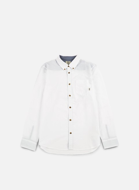 camicie vans houser ls shirt white
