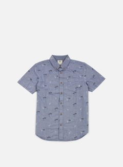 Vans - Houser SS Shirt, Blueprint Flocking Dead 1
