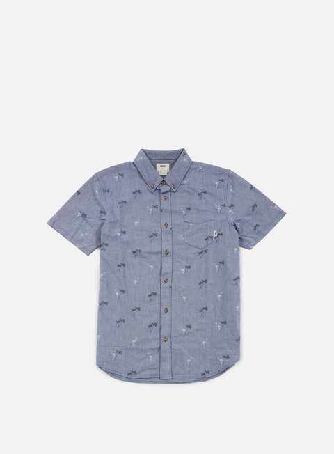 camicie vans houser ss shirt blueprint flocking dead