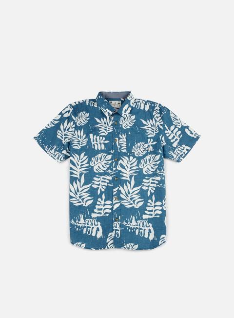 camicie vans jt solana ss shirt blue ashes
