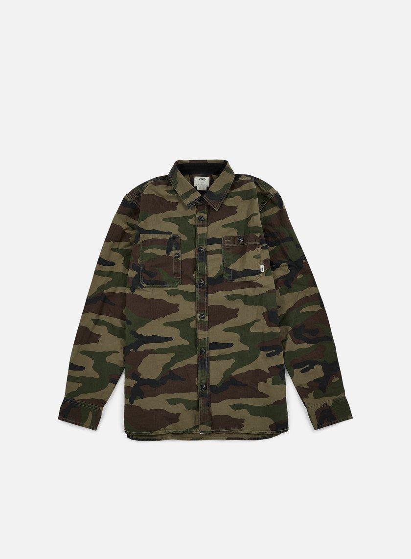 Vans - Kirtland Shirt, Camo