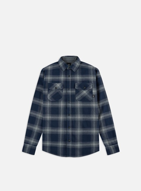 Sale Outlet Long Sleeve Shirts Vans Monterey III LS Shirt