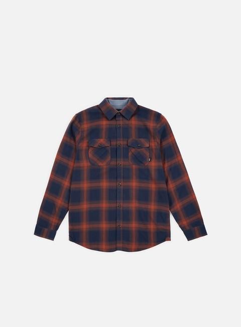 camicie vans monterey iii ls shirt dress blues sequoia