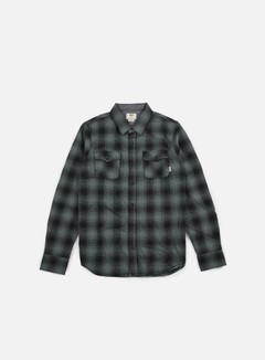 Vans - Monterey Shirt, Black/North Atlantic