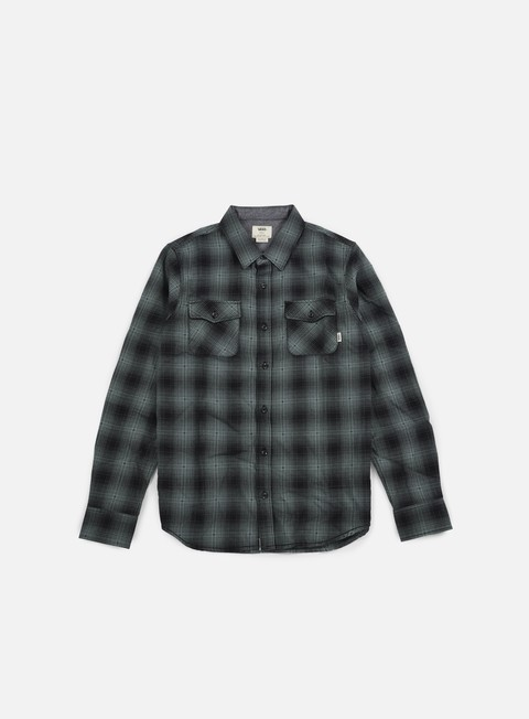 camicie vans monterey shirt black north atlantic