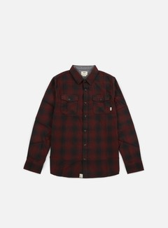 Vans - Monterey Shirt, Black/Port Royale 1