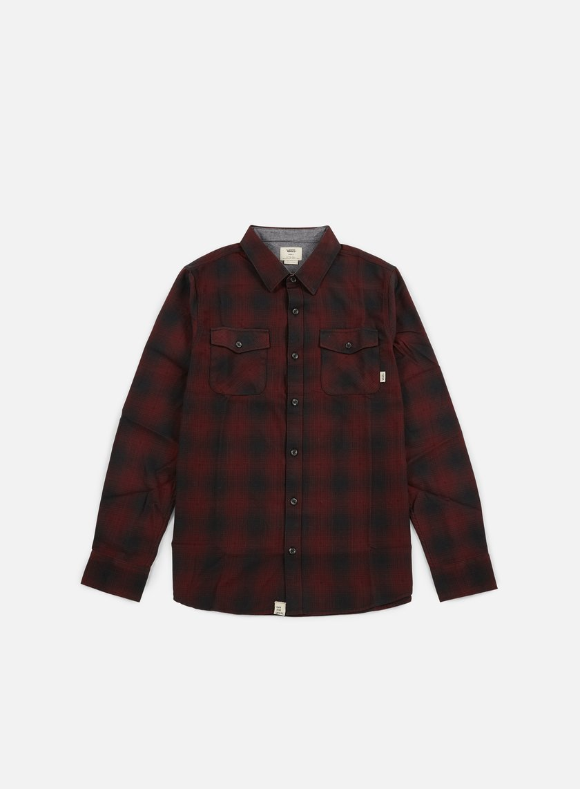 Vans - Monterey Shirt, Black/Port Royale