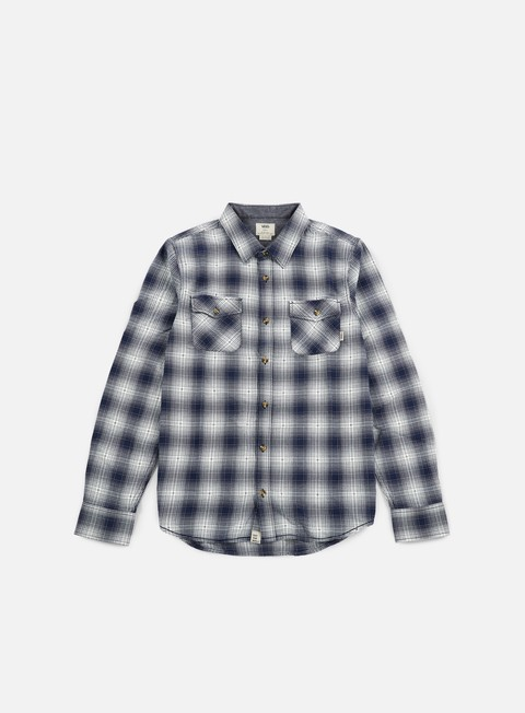 camicie vans monterey shirt dress blues