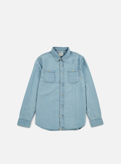 camicie vans ostrom shirt light indigo