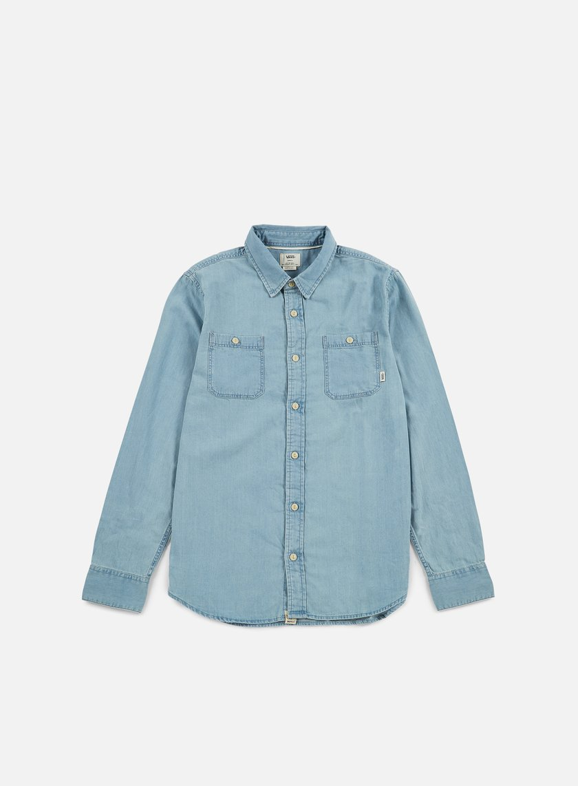Vans - Ostrom Shirt, Light Indigo