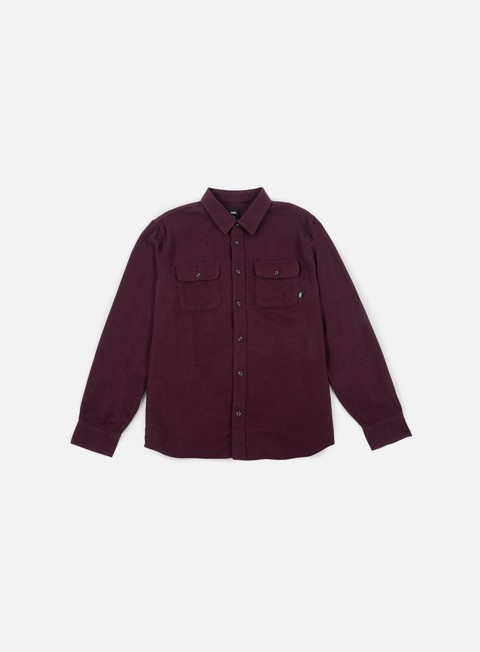 Outlet e Saldi Camicie a Manica Lunga Vans Perry LS Shirt