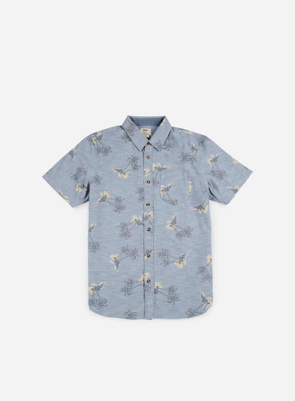 Vans - Salado SS Shirt, Blue Mirage Havana