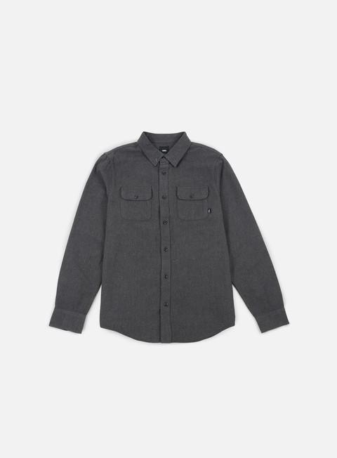 camicie vans scribner ls shirt black