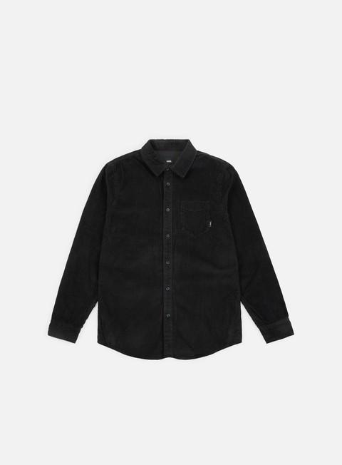 camicie vans sellner ii ls shirt black