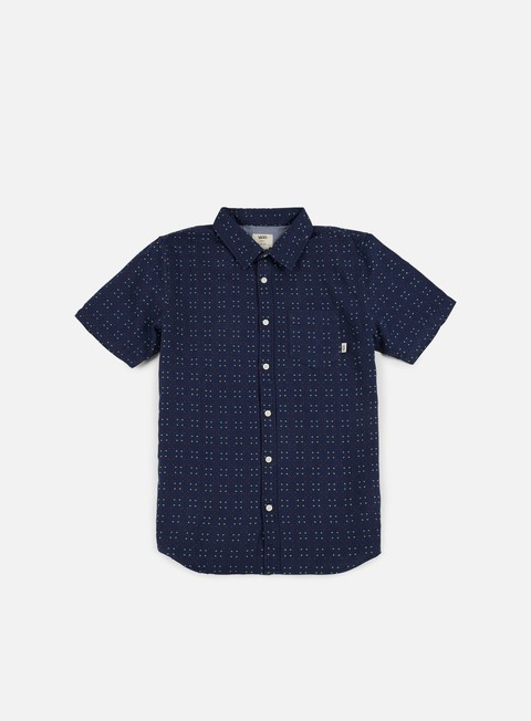 camicie vans speer ss shirt dress blues