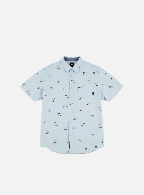 Short Sleeve Shirts Vans Tres Palmas SS Shirt
