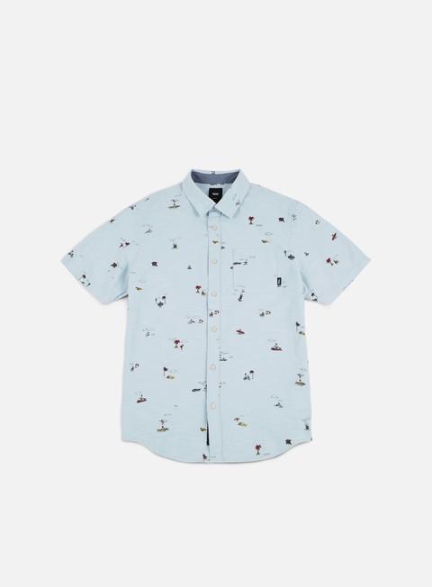 camicie vans tres palmas ss shirt baby blue tres palmas