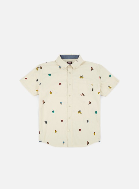 Short Sleeve Shirts Vans Vans x Marvel Houser SS Shirt