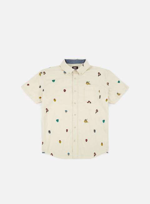 camicie vans vans x marvel houser ss shirt marvel avengers