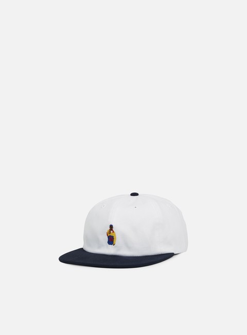 cappellini acapulco gold chef 6 panel hat white