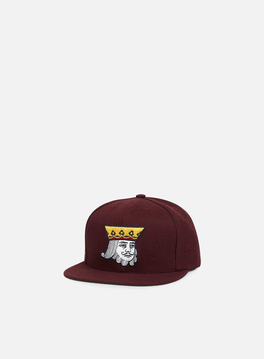Acapulco Gold - King Snapback, Burgundy