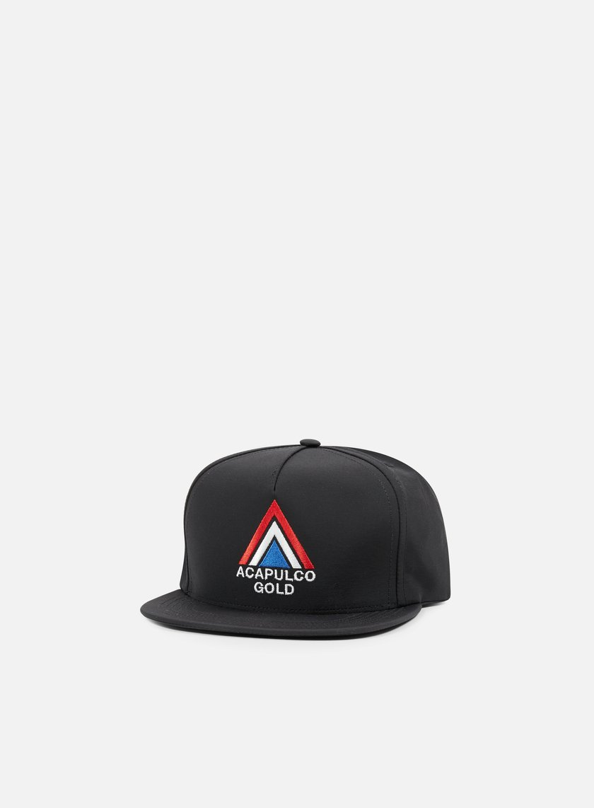 Acapulco Gold - Peak Snapback, Black
