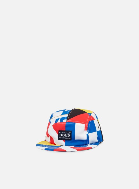 cappellini acapulco gold regatta camp strapback multicolor