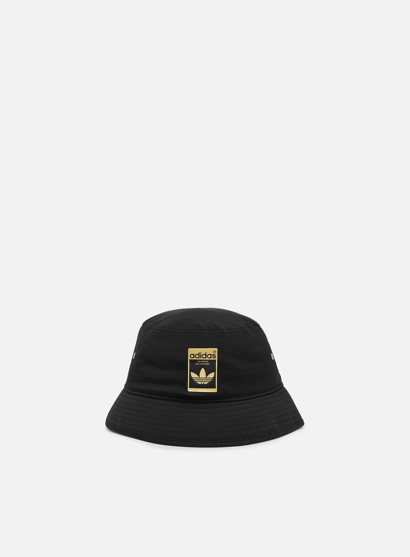 Nero//Bianco Taglia Unica adidas CLSC Bucket Hat Cappellino Unisex Adulto