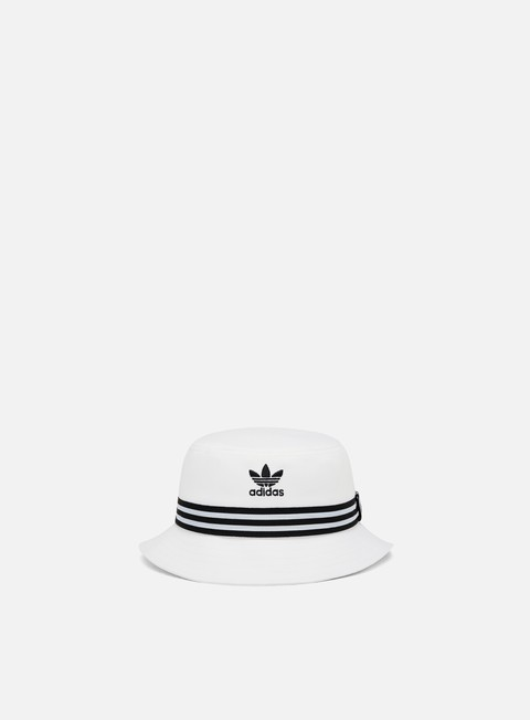 cappellini adidas originals ac bucket hat white black