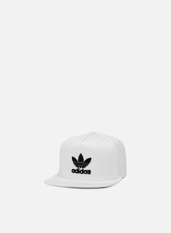 Adidas Originals - AC Tre Flat Snapback, White/Black