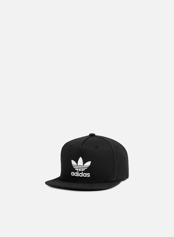 Adidas Originals - Classic Trefoil Snapback, Black