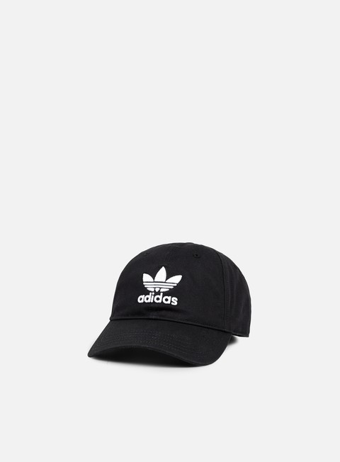 cappellini adidas originals classic trefoil strapback black