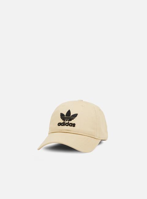 Curved Brim Caps Adidas Originals Classic Trefoil Strapback