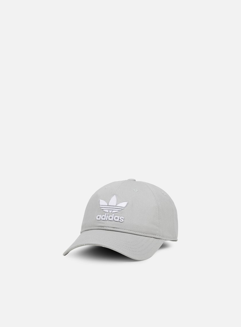 Adidas Originals - Classic Trefoil Strapback, Medium Grey Heather Solid Grey