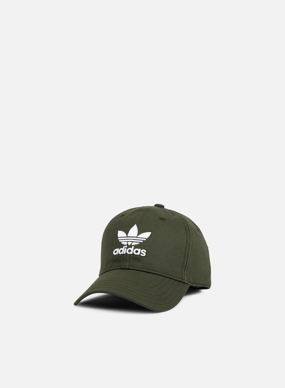 cappello con visiera adidas nero
