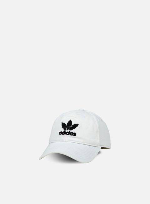 cappellini adidas originals classic trefoil strapback white black