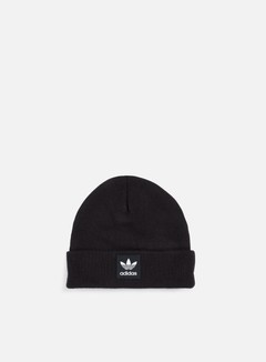 Adidas Originals - Logo Beanie, Black/White 1