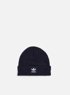 Adidas Originals - Logo Beanie, Legend Ink/White 1