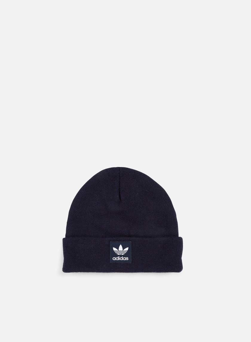 Adidas Originals - Logo Beanie, Legend Ink/White